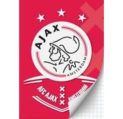 Ajax Amsterdam A4 ruitjes schrift - AFC