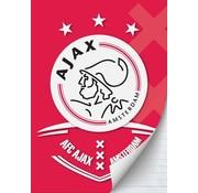 Ajax Amsterdam A4 lijntjes schrift  - AFC