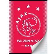 Ajax Amsterdam A4 lijntjes schrift - wij zijn