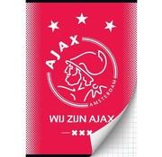 Ajax A4 ruitjes schrift - wij zijn