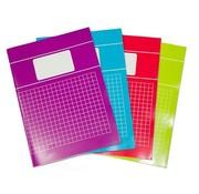 Trend 5 x Schriften A4 10mm geruit - voordeelpak