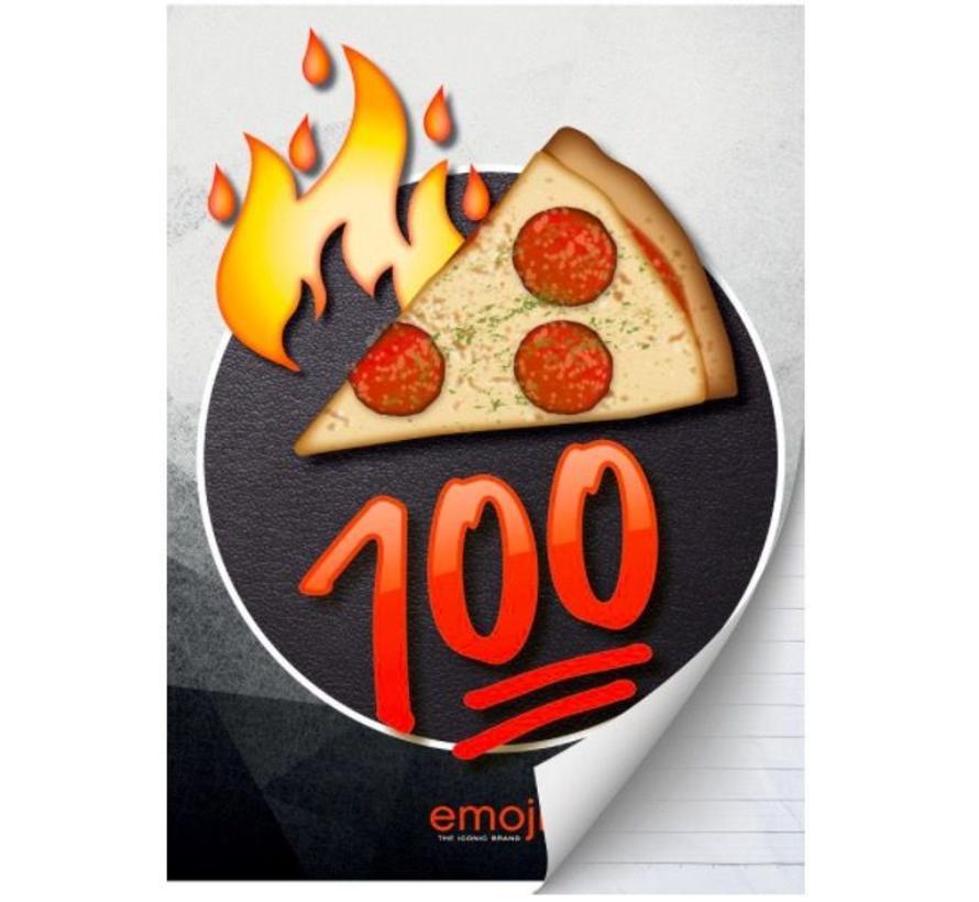 A4 schrift geruit - pizza