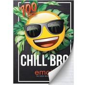 Emoji Boy's A4 lijntjes schrift