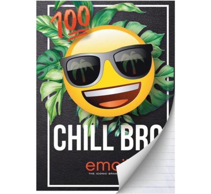 A4 schrift gelinieerd boy's - Chill