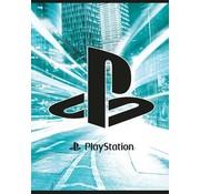 Play Station A4 lijntjes schrift - blauw