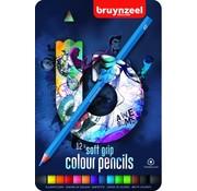 Bruynzeel Teens kleurpotloden - blauw 12st