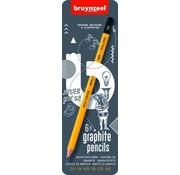 Bruynzeel Teens grafiet potloden blik