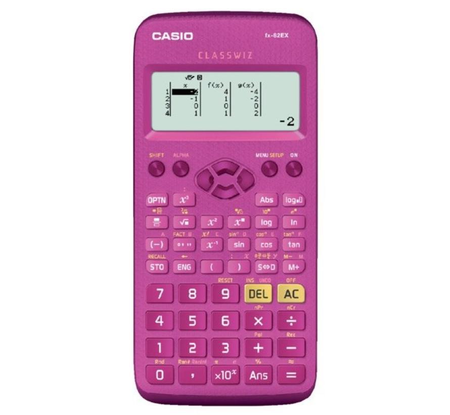 CLASSWIZ FX-82EX calculator - roze