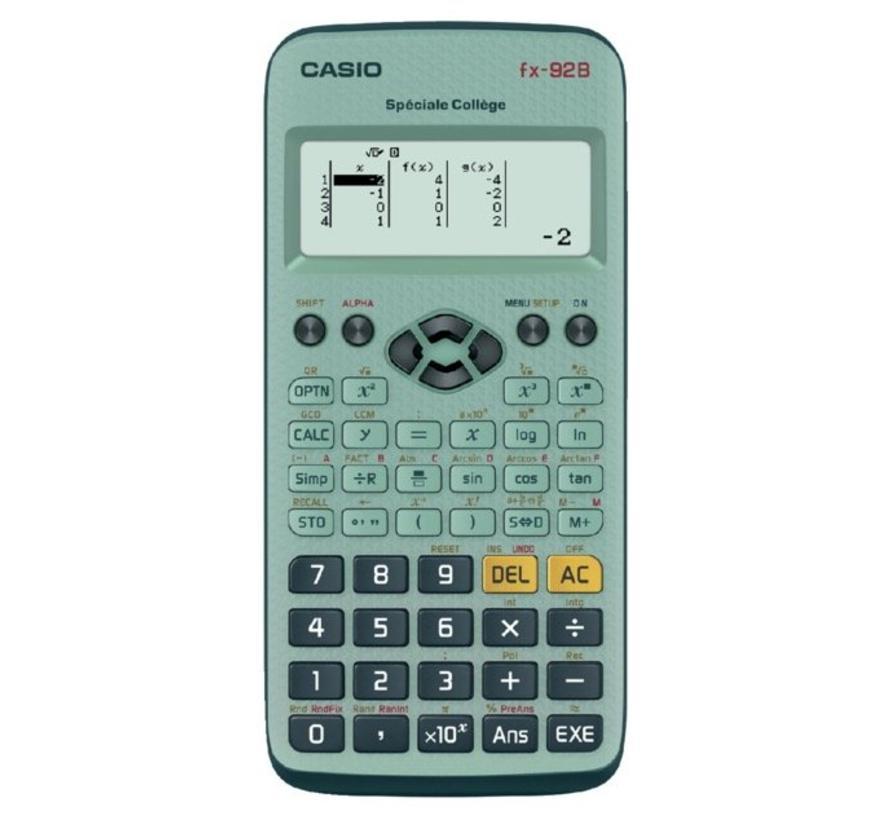 FX-92B calculator SPECIALE COLLEGE II