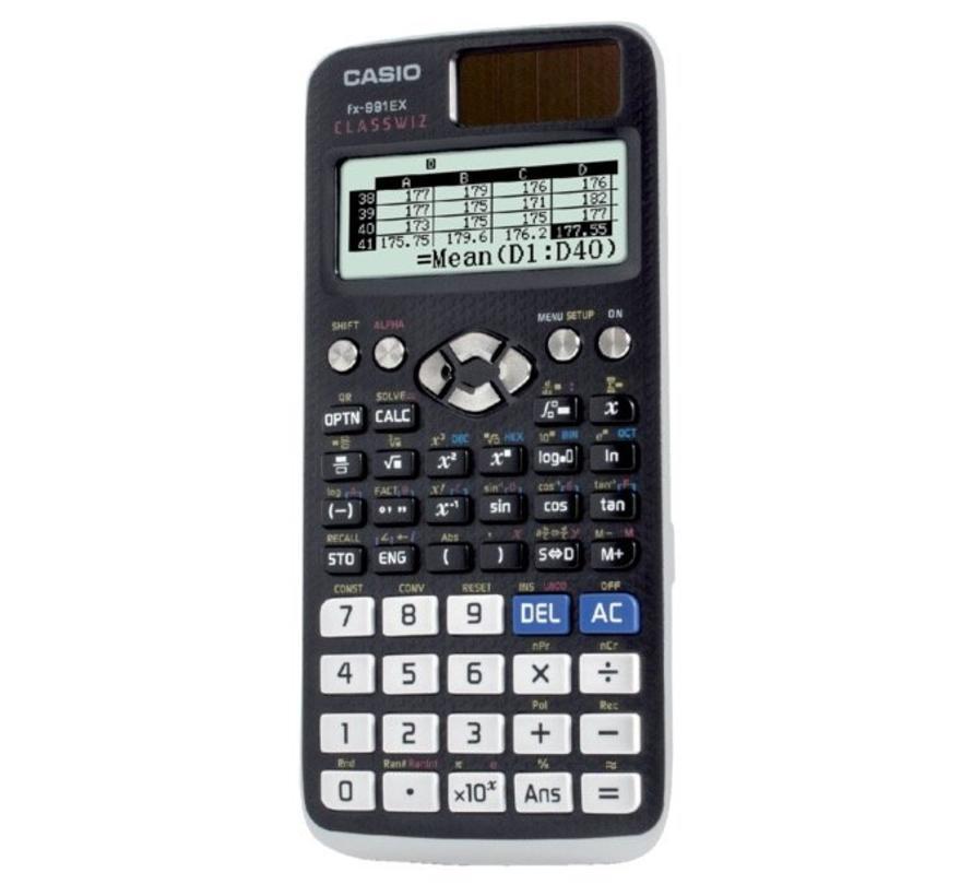 FX-991EX calculator