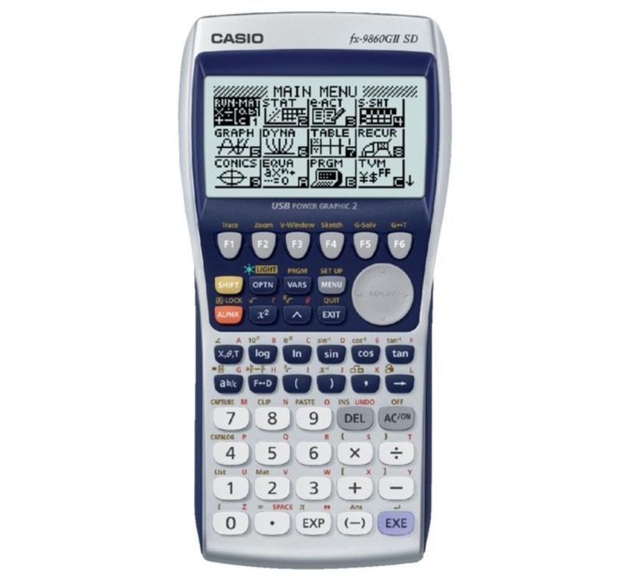 FX-9860GII-SD Grafische rekenmachine