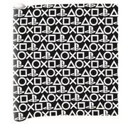 Play Station Kaftpapier - zwart