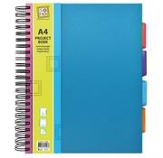 Trend Projectboek A4 blauw