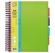 Trend Projectboek A4 groen