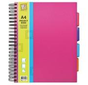 Trend Projectboek A4 roze