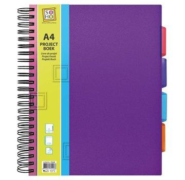 88a999fa8fe Trend Projectboek A4 paars