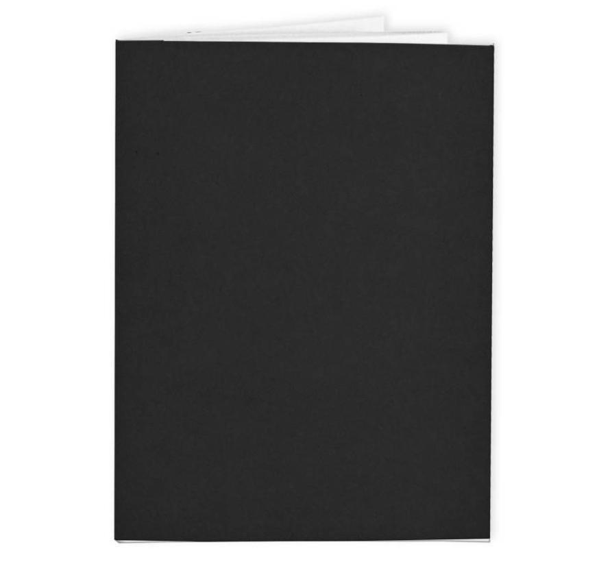 Zwart A4 kraft schrift