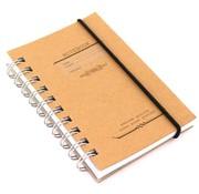 Kraft Notitieboek smal- kraft bruin