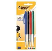 Bic M10 balpen assortiment kleur 4x