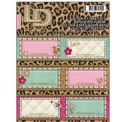 Little Diva Etiketten - luipaard