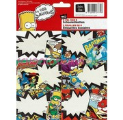 The Simpsons Etiketten - bartman