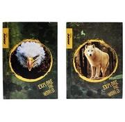 National Geographic A4 lijntjes schrift 2 stuks