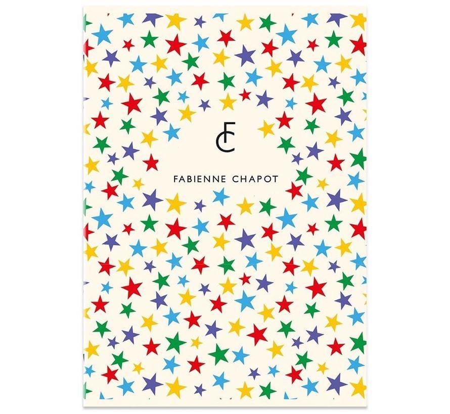 A4 schrift gelinieerd -sterren