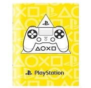 Play Station A4 ruitjes schrift - geel