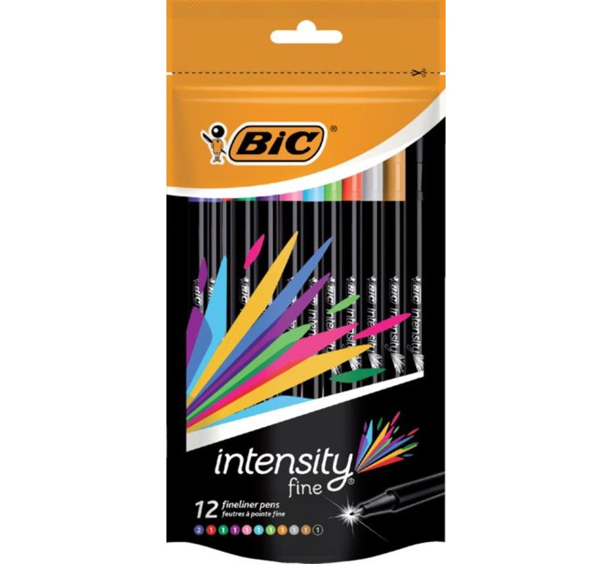 Intensity fine fineliners 12st