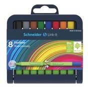 Schneider Link-It fineliners 8 stuks