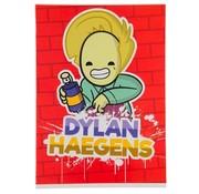 Dylan Haegens A4 ruitjes schrift - spuitbus