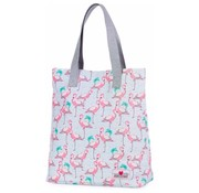 Awesome Mermaid shopper - flamingo