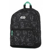 Star Wars Rugzak - middel zwart