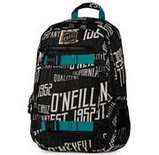 O'Neill Boy's rugzak zwart middel logo
