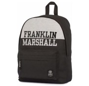Franklin & Marshall Rugzak zwart - compact laptop