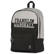 Franklin & Marshall Rugzak zwart - middel laptop