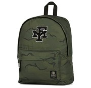 Franklin & Marshall Rugzak camo green - compact laptop