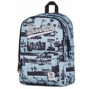 Franklin & Marshall Girls laptop rugzak middel - blue