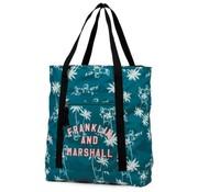 Franklin & Marshall Shopper - groen/blauw