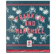 Franklin & Marshall Girls ordner 2r - groen/blauw