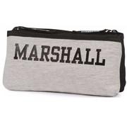 Franklin & Marshall Boy's dubbel etui - grey/black