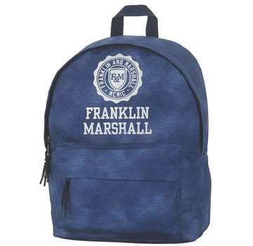 c28be93822d Franklin & Marshall Boy's rugzak compact - blauw