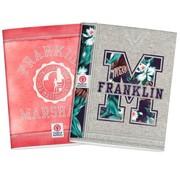 Franklin & Marshall Girls A5 lijntjes schriften - aloha flower