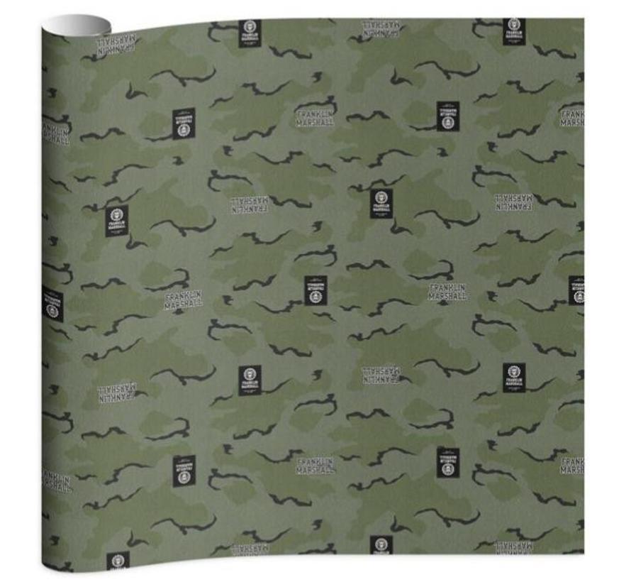 Boy's kaftpapier - camo
