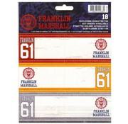 Franklin & Marshall Boy's etiketten - blue/orange