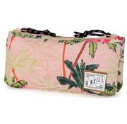 O'Neill Girls schooletui dubbel - roze palm