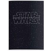 Star Wars A4 ruitjes schrift - text