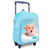 My Favourite friends Trolley / rugzak hond - blauw