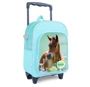 My Favourite friends Trolley / rugzak paard - groen