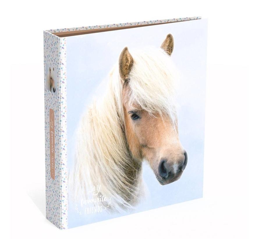 Smalle ordner 2r - paard